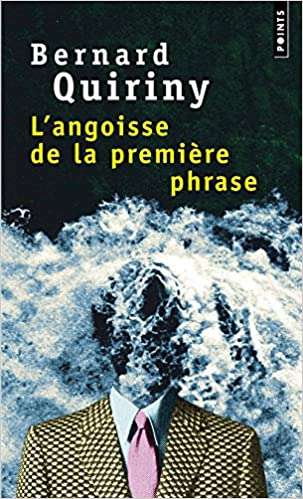Book Angoisse de La Premi're Phrase(l') (English and French Edition)