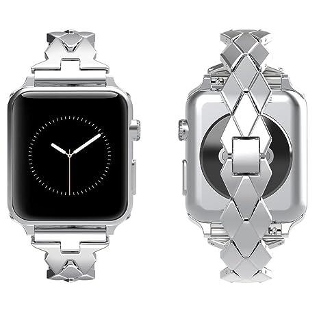 Correa Apple Watch 38mm,Correa Apple Watch 3 38mm AottomReloj Apple Watch Hombre Banda Reemplazo