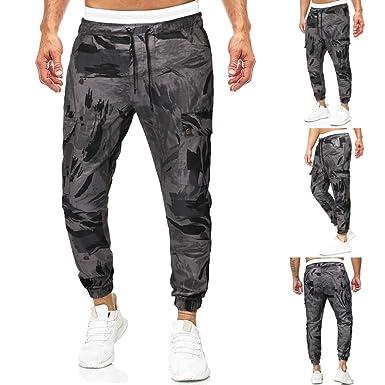 Memefood Hombre Pantalón De Chándal Pantalones Deportivos Diseño ...