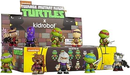 Kidrobot x Teenage Mutant Ninja Turtles Mini Series Blind Box (Styles May Vary) Vinyl Figure