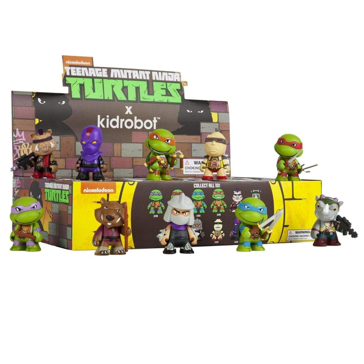 Amazon.com: Kidrobot X Teenage Mutant Ninja Turtles Mini ...