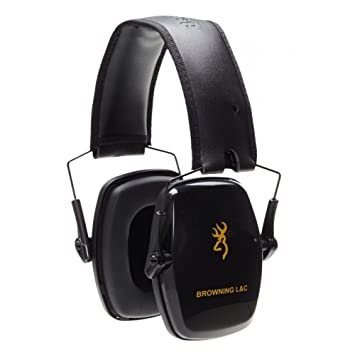 Browning L & C Auriculares Anti Ruido, Unisex Adulto, Negro, Talla Única