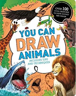 Image of: Minecraft Wolf You Can Draw Animals Over 100 Cool Creatures To Draw Doodle And Design Amazon Uk How To Draw Minecraft Characters Easy Minecraft Drawing Guide