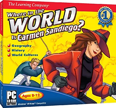 Where In The World Is Carmen Sandiego - PC free