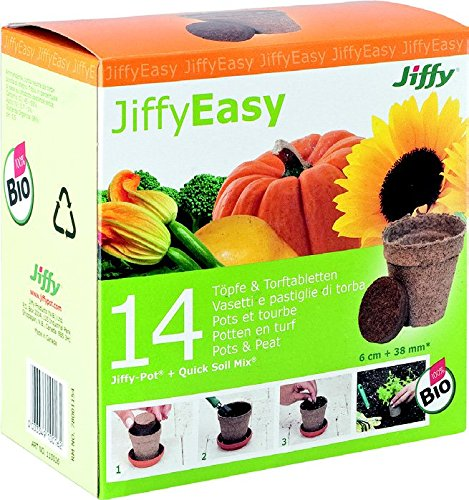 'Jiffy Pots Round 8 cm – Pack of 16 Garda 945011UNID