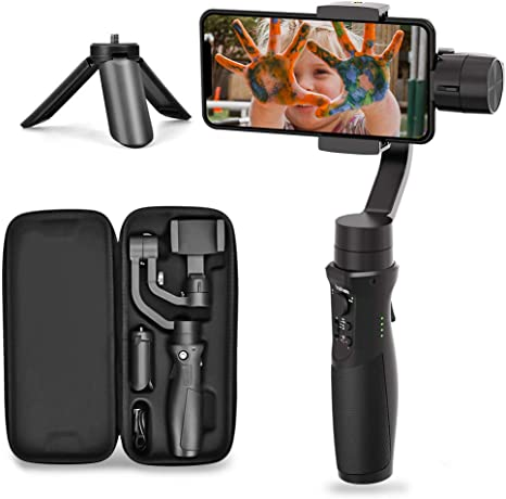 Hohem 3-Axis Gimbal Stabilizer for Smartphone iSteady Mobile Plus ...