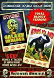 Grindhouse Double Shock Show: Galaxy Invader / Kong Island by Richard Ruxton