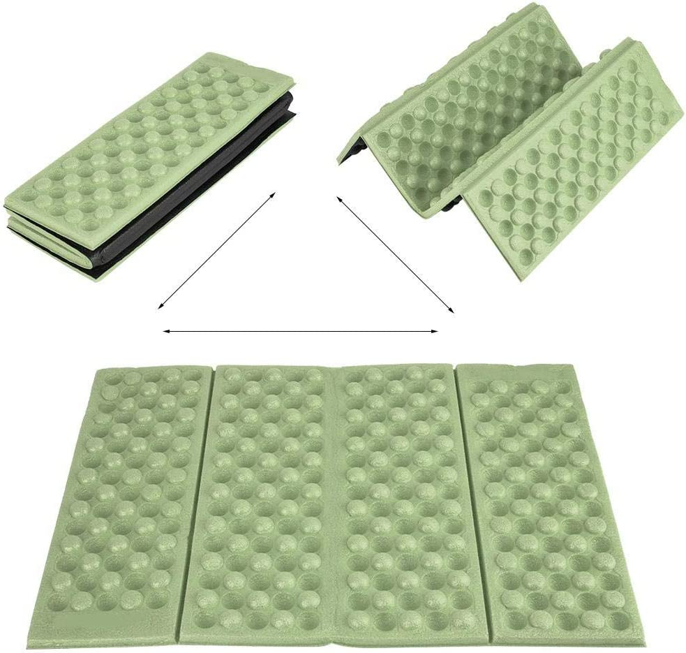 VGEBY1 Almohadilla de Espuma para Acampar Coj/ín Plegable para el Asiento Asiento Acolchado Plegable Plegable de Espuma para Acampar