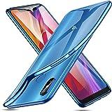 ESR Funda para Xiaomi Mi 8, Funda para Transparente Suave TPU Gel [Ultra Fina] [Protección a Bordes y Cámara] Enjaca para Xiaomi Mi 8-Azul