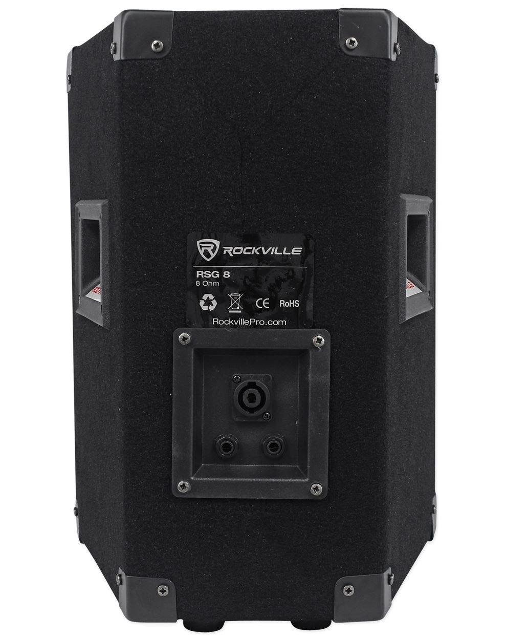 Rockville RSG10 10 400 Watt 8-Ohm 2-Way Passive DJ//Pro PA Speaker