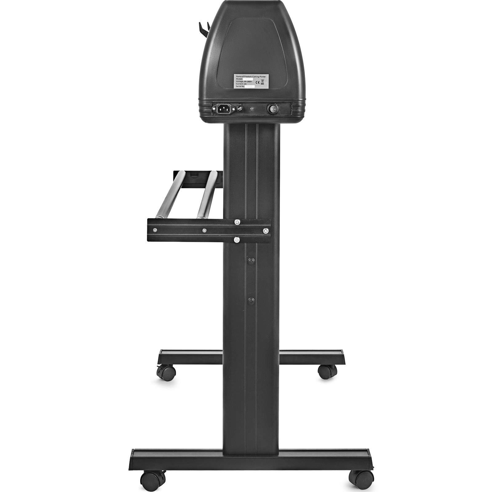 VEVOR Vinyl Cutter 53 inch Plotter Machine 1340mm Paper Feed Vinyl Cutter Plotter Signmaster Software Sign Making Machinewith Stand (53Inch Style 2) by VEVOR (Image #5)