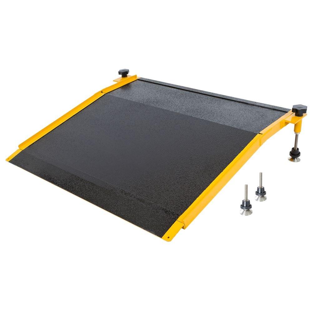 400 lb Capacity Aluminum Adjustable Curb Ramp