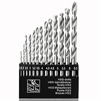 Generic TDL44308_1 Made in China Drill Set, Set of 13