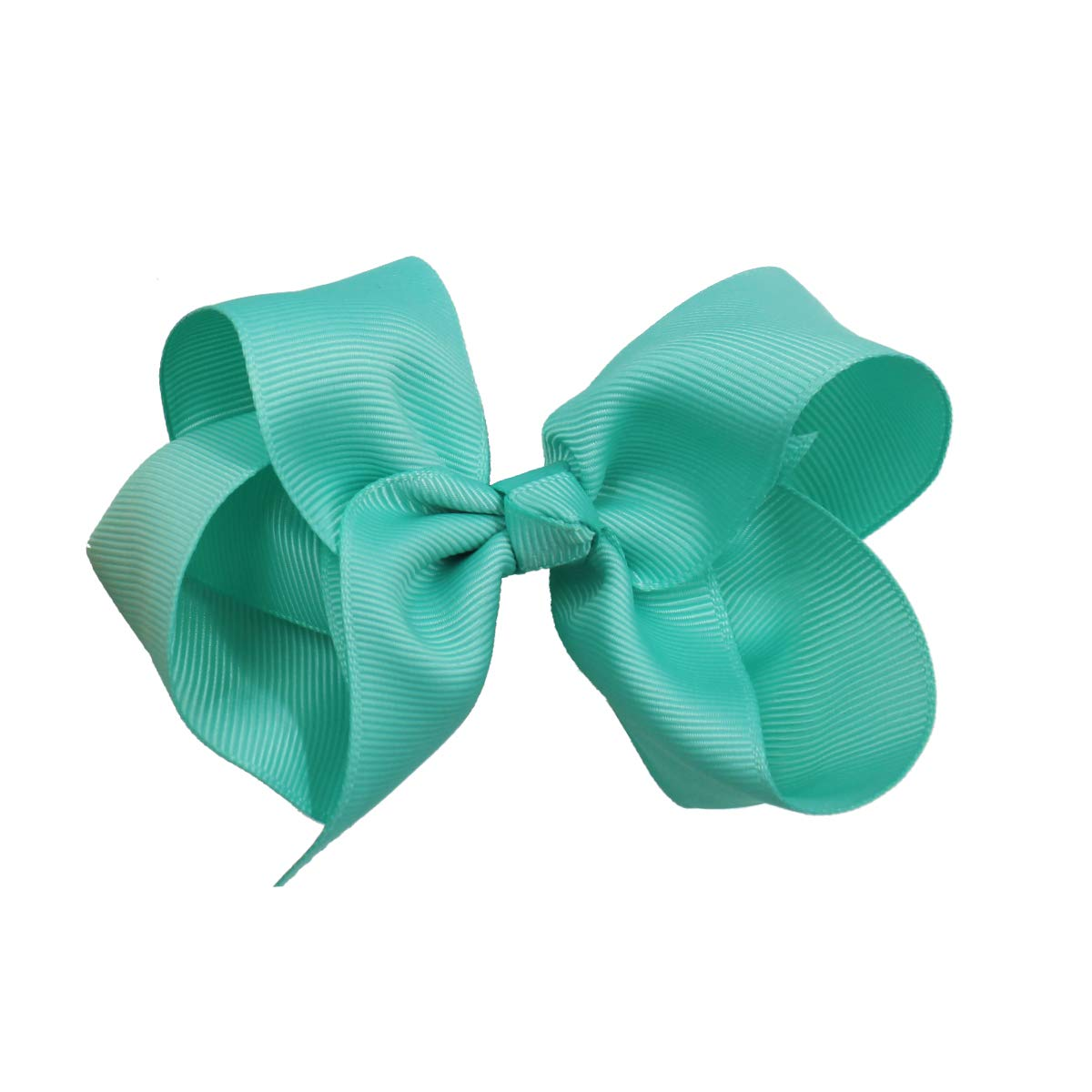 40PCS Hair Bows for Girls 4.5inch Boutique Grosgrain Ribbon Bows Alligator Hair Clips Hair Accessories for Baby Girls Toddlers Kids Children Teens
