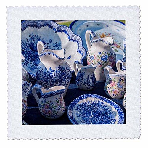 danita-delimont-pottery-europe-portugal-oporto-portuguese-ceramics-for-sale-12x12-inch-quilt-square-