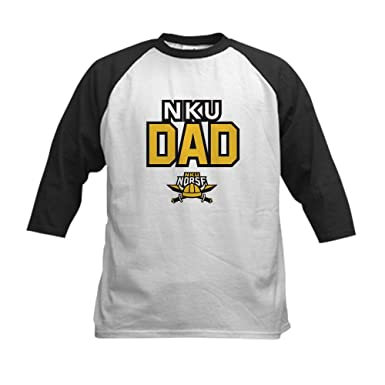 aa6421a2 Amazon.com: CafePress - Northern Kentucky NKU Norse Dad Baseball Jersey -  Kids Cotton Baseball Jersey, 3/4 Raglan Sleeve Shirt: Clothing