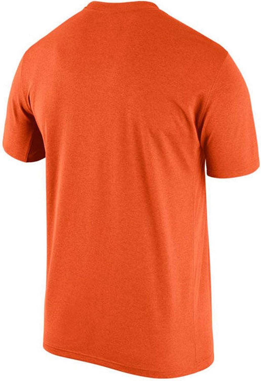 Nike Mens Denver Broncos Legend Logo Essential 3 Dri-Fit T-Shirt Orange