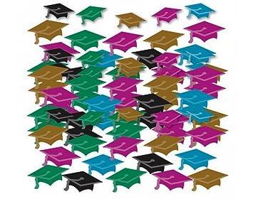 large éventail acheter en ligne taille 7 amscan 99.816 Confetti en Forme de Mini-Chapeaux pour Fin d ...