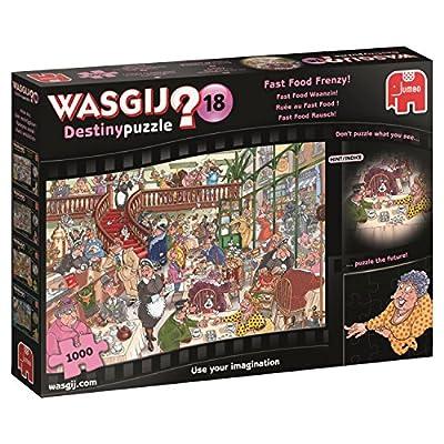 Wasgij Destino 19157 18 Fast Food Frenzy Puzzle Da 1000 Pezzi