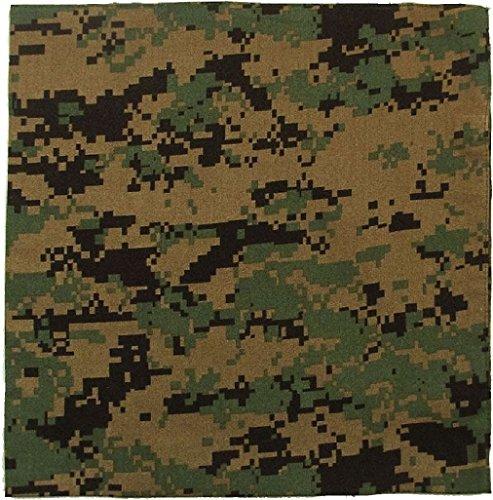 Jumbo Camouflage Military Bandanas Cotton Army Camo Biker Headwrap 27