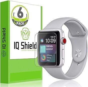 6-Pk IQShield Apple Watch Screen Protector