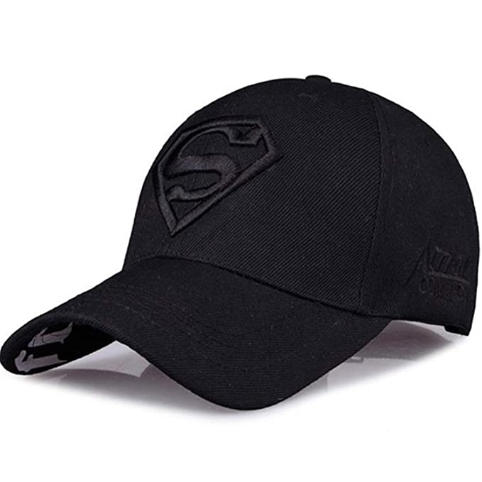 5beaa1a7d86 2019 New Letter Superman Casual Outdoor Baseball Caps for Men Hats Women Snapback  Caps for Adult Sun Hat Caps at Amazon Men s Clothing store