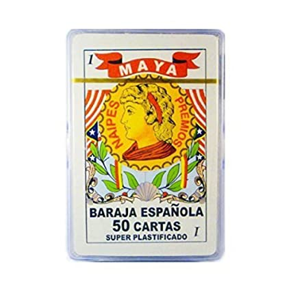 Barajas Espanolas En Caja Plastica, Spanish Playing Cards, Plastic Case
