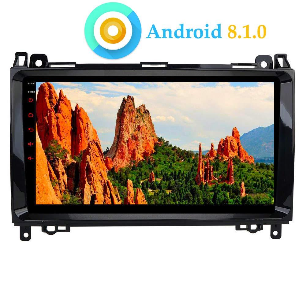 Android 8.0 en el Dash Car Reproductor de Video est/éreo para Mercedes-Benz W169 A150//160//170//180//200 W245 B160//170//180//B200 W639 Vito//Viano W906 Sprinter 2500//3000 VW Crafter 2006 en adelante