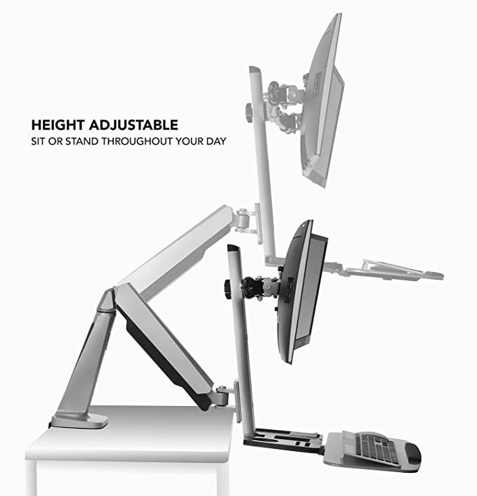 Amazon.com: Mount-It! Soporte para sentarse.: Office Products