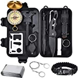 KEPEAK Emergency Survival Kit, Professional Survival Gear Kit Tool for Camping, Hiking, and Adventure