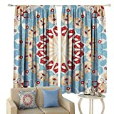 Classic Decor Collection Blackout Curtains Luxurious Royal Classics Stylish Summertime Exotic Arabic Style Art Print Home Garden Bedroom Outdoor Indoor Wall Decorations