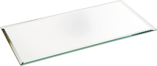 Plymor Rectangle 3mm Beveled Glass Mirror