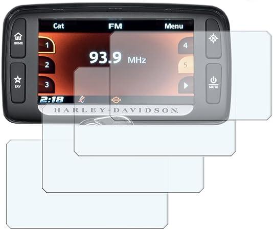 Speedo Angels Saha422 Dashboard Screen Protector for Harley Davidson Boom Box Gts 2019+ 2 x Ultra Clear /& 2 x Anti Glare