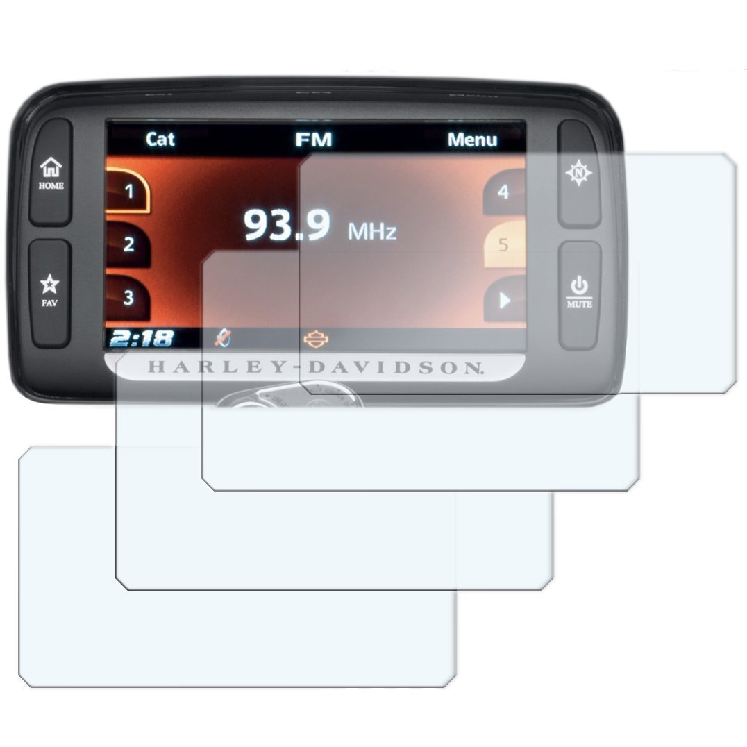 Connectivity TFT Dashboard Screen Protector 2 x BMW R1200GS 2017 Ultra-Clear
