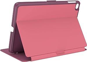 Speck Products Balance Folio iPad Mini 2021/iPad Mini 4/iPad Mini 5 Case and Stand, Royal Pink/Lush Burgundy