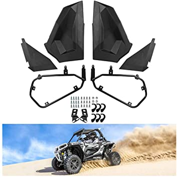 KIWI MASTER Lower Half Door Inserts Panels Compatible for 2014-2018 Polaris RZR XP 900