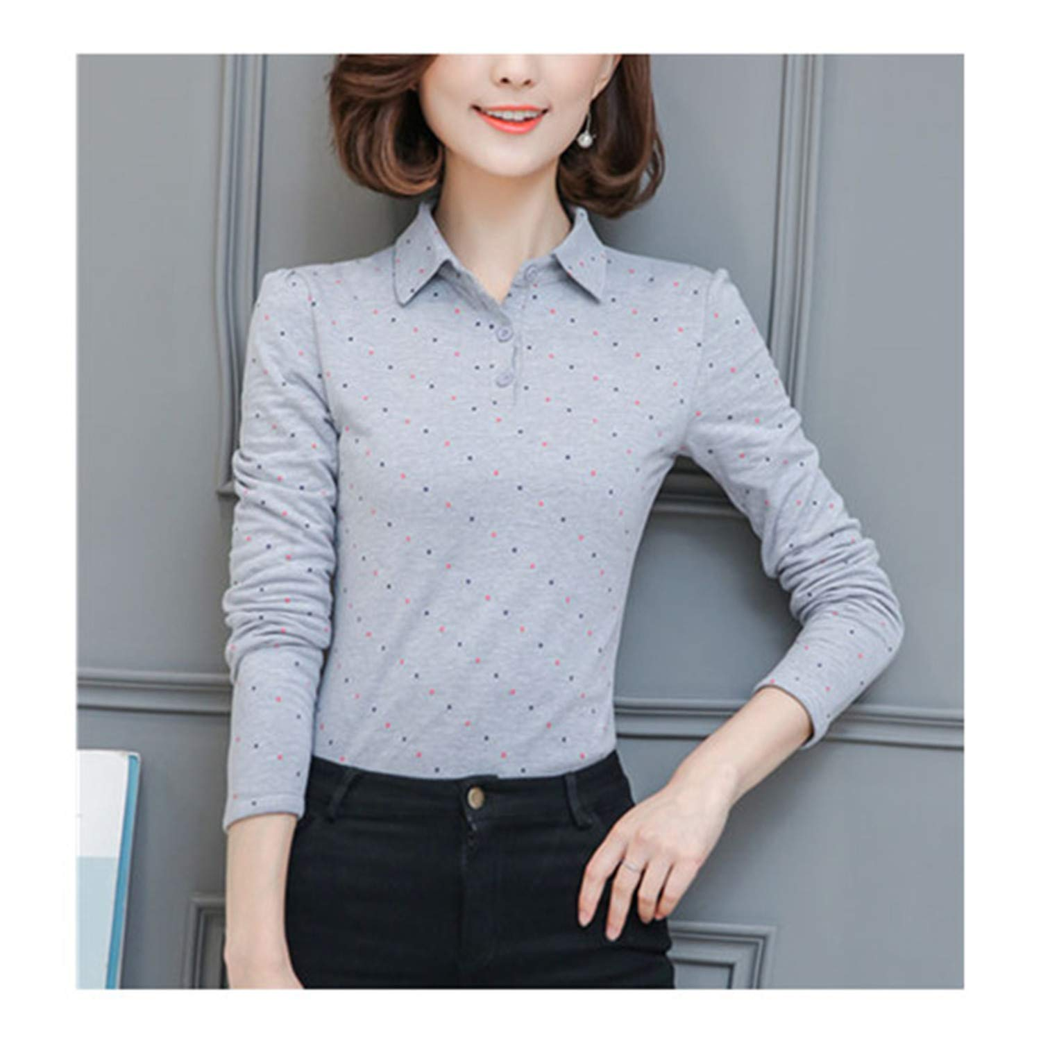 Long Sleeve Tshirt Women Cotton Tee Shirt Female Solid Casual T-Shirt Ladies Tops