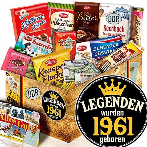 Legenden 1961 / Schokolade DDR Süßigkeiten-Box L / Geschenk 1961