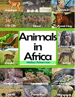 African Animals: Caroline Arnold: 9780688141158: Amazon.com: Books