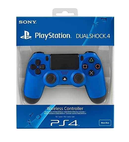 1508 opinioni per PlayStation 4- Controller Dualshock 4 Wireless, Blue per PS4
