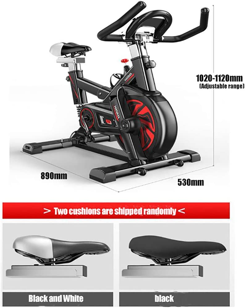 AARRM Bicicletas Spinning Indoor,Bicicleta estática de Spinning ...