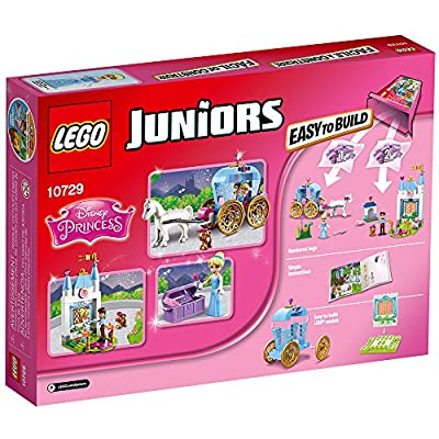 LEGO Juniors Cinderella's Carriage 10729 Toy for 4-Year-Olds: Toys & Games