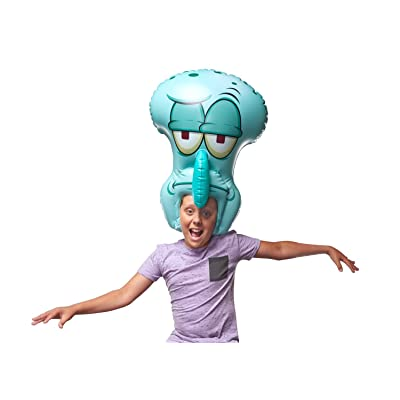 "SpongeBob SquarePants, Spongeheads, +20"" Tall Inflatable Wearable, Squidward, Blue: Toys & Games [5Bkhe1901522]"