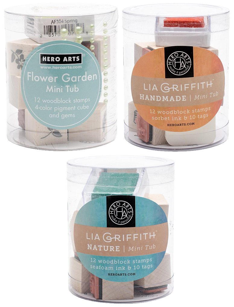 Hero Arts Nature Mini Tub by Lia