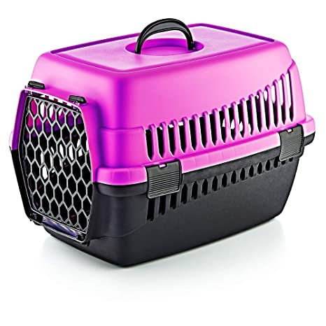 Furany Caja de Transporte para Mascotas Caja de Transporte para Perros Gatos