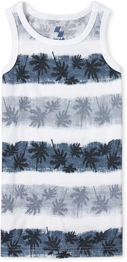 The Childrens Place Boys Printed Tank Top