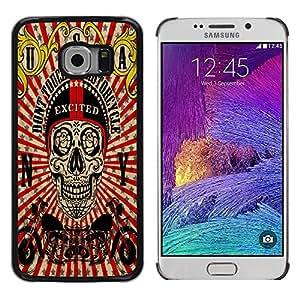 Dragon Case - FOR Samsung Galaxy S6 EDGE - Let me go out - Caja protectora de pl??stico duro de la cubierta Dise?¡Ào Slim Fit