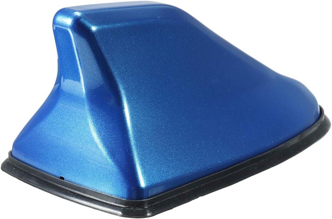 Blue Viviance Universal Auto Car Shark Fin Roof Antenna Aerial AM FM Radio Decorate