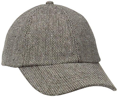 (San Diego Hat Company Women's Tweed Cap, Brown, One Size)