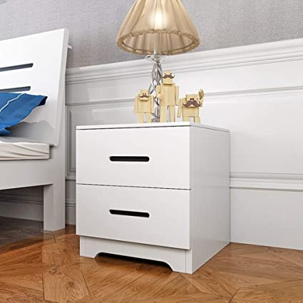 Amazon.com: Bedside table GJM Shop Drawer Type Multifunction ...